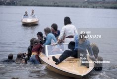 News Photo : The Bay City Rollers pop group are mobbed by...