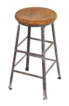 Benches & Stools Frank Pair Of Vintage Industrial Angle Steel Co Stools Metal From A Chevy Plant Furniture