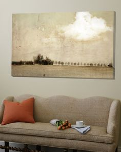 Crop Field and Barn Loft Art by Mia Friedrich at Art.com