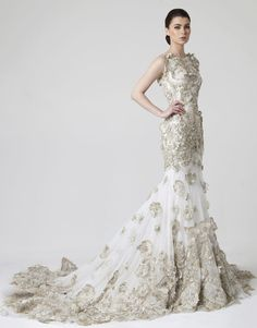 Rani Zakhem Wedding Dresses 2014 Collection. To see more: http://www.modwedding.com/2014/07/03/rani-zakhem-wedding-dresses-2014-collection/ #wedding #weddings #wedding_dress #rani_zakhem