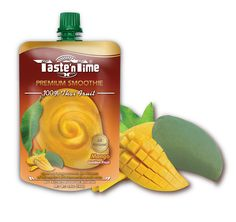 New! Taste'n Time 100% juicy Thai fruit smoothies, the one-of-a kind refreshment that makes any occasion fun and cool with authentic natural tastes of popular Thai fruits.