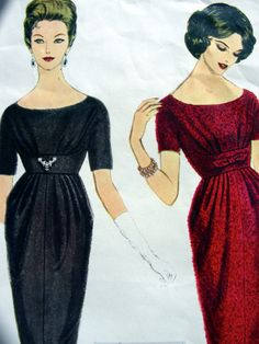 Simonetta of Italy  Vintage 60s VOGUE Couturier by anne8865, $85.00 1536