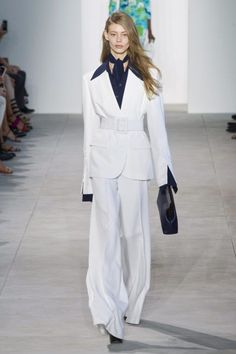 I am woman hear me roar! A strong, feminist message was woven into many spring 2017 collections, including Dior, where a white tee featured five powerful words. But despite the rallying cry (or maybe because of it?) the pantsuit is the comeback kid of the season. It's even dabbling in politics, too, thanks to longtime […] The post Spring 2017...