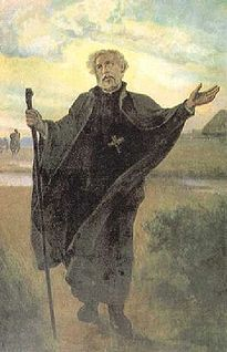 St. Andrew Bobola. Patron Saint of Poland; Archdiocese of Warsaw. (My grandparents came here from Warsaw Poland, and I was named after my father Andrew. This is my Patron Saint.