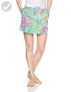 Lilly Pulitzer Women's Zia Skirt Royal Lime, Tiki Pink Royal Lime, XL - All about women (*Amazon Partner-Link)