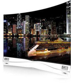 Il design curvo un salotto ancora più cinematografico: LG OLED curvo da 55 pollici a 8999,99 euro