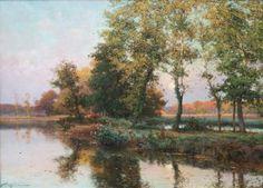 "Albert Rigolot ""Soir Dautomne"" - Southwest Gallery: Not Just Southwest Art."