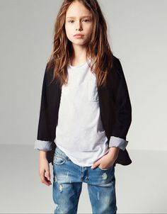 PONTE DI ROMA KNIT BLAZER - Jackets - Girl (2-14 years) - Kids - ZARA United States