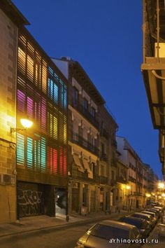 Жилой дом от James & Mau. Мадрид, Испания.