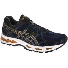 ASICS GEL-Kayano® 21 Men's Indigo Blue/Black/Gold : Running: Holabird Sports