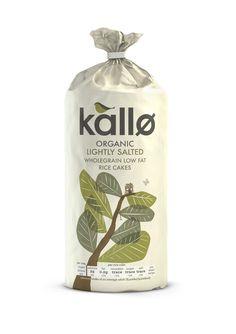 Kallo Organic Lightly Salted Rice Cakes