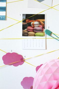 DIY One Step Pin Board - rubber bands + stretched canvas