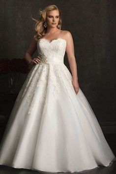 Plus Size Wedding Dresses - Page 4 of 5 - plussize-outfits.com