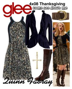 """""""Quinn Fabray (Glee) : Come See About Me"""" by aure26 ❤ liked on Polyvore featuring Rachel Pally and glee"""