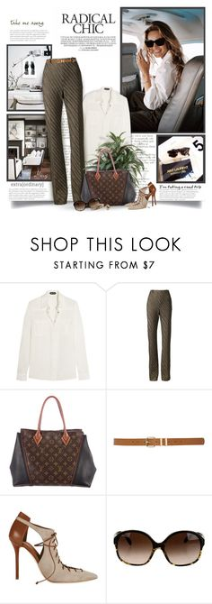 """Just Go"" by thewondersoffashion ❤ liked on Polyvore featuring Tom Ford, Missoni, Louis Vuitton, M&Co, Malone Souliers, Oliver Peoples, Chanel, louisvuitton, TOMFORD and missoni"