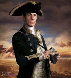 Star Trek Naval Portraits – Where The Bold Have Boldly Been | Sci-Fi Design