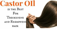 HOW TO USE CASTOR OIL FOR THICKENING AND RE-GROWING HAIR, EYELASHES AND EYEBROWS