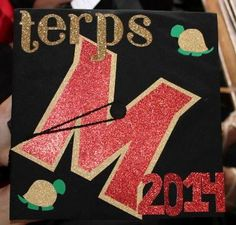 Umd themed graduation cap maryland umd feartheturtle do it 10 umd themed graduation cap ideas solutioingenieria Gallery