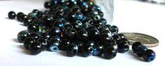4mm Round Beads Czech Glass Beads Pressed Druk Bead Stringing