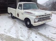 1965 Ford F-100 - item condition used super clean rust free straight original paint 1965 f100 swb the truck was a new mexico native truck is original with the