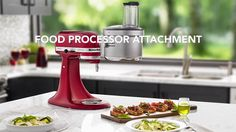 Prepare more food with less effort with the KitchenAid Food Processor Attachment and Stand Mixer. From Slicing and dicing vegetables and fruit to making puree and sauces. For Everything You Want To Make. #KitchenAidAfrica #MixwiththeBest