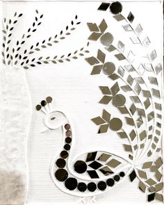 Precious Tips for Outdoor Gardens In general, almost half of the houses in the world… Mirror Crafts, Diy Mirror, Mirror Mosaic, Mirror Work, Clay Wall Art, Mural Wall Art, Clay Art, Broken Mirror Art, Rajasthani Art