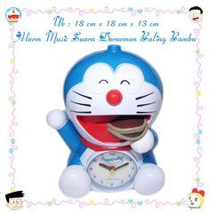 Jam Alarm Music Doraemon Full Body Dorayaki L (Rp 150Rb)
