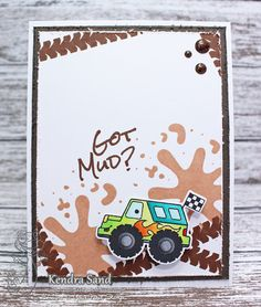 Luv 2 Scrap n' Make Cards, Your Next Stamp, Happy Birthday Handmade Card, Kendra Sand