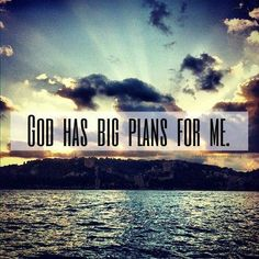 amen, God has big plans for me that I can't even imagine! Bible Verses Quotes, Faith Quotes, Life Verses, Jesus Quotes, Scriptures, Christian Life, Christian Quotes, Lord Of Hosts, In Christ Alone