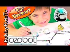 Ozobot Marker Adventure! Toy Review + Play by HobbyKidsTV - YouTube