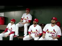 Cardinals TV Commercial - Bingo....I laughed SO hard after seeing this on tv. What if they got this idea from actually seeing them do it?