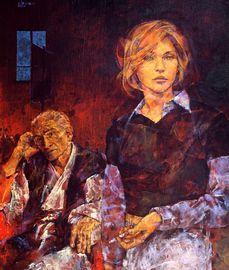 Paris Art Web - Painting - Fabien Clesse - The Muse