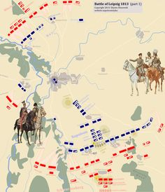 Napoleon - Battle of Leipzig, 1813