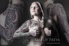 Arm of Freya, by Uffe Be Wolfe.