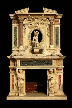 Oversized Large Marble Fireplace Greco Roman http ...