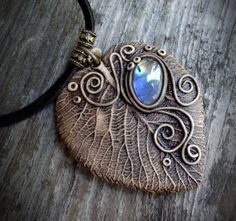 FREE SHIPPING Labradorite Pendant Labradorite by FairyDrop on Etsy, €45.00