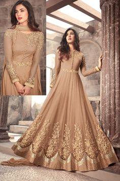 Looking to buy Anarkali online? ✓ Buy the latest designer Anarkali suits at Lashkaraa, with a variety of long Anarkali suits, party wear & Anarkali dresses! Indian Gowns Dresses, Eid Dresses, Bridal Dresses, Pakistani Gowns, Indian Long Gowns, Indian Anarkali, Bridesmaid Dresses, Indian Party Wear, Indian Wedding Outfits