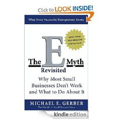 The EMyth is probably one of the most famous small business marketing books and a must read if you are serious about marketing your business. This is the latest version I believe.