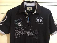 Polo LA MARTINA maglia shirt S-M 46 -48 maglietta t-shirt limited t-shirt