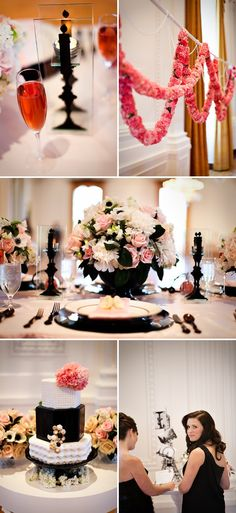 French Inspired Chanel Bridal Shower