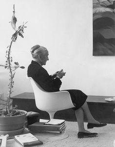 """""""I like an empty wall because I can imagine what I like on it.""""  – Georgia O'Keeffe."""