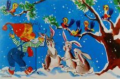 Retro Christmascard