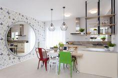 Kuchyňa v sviežich farbách Table, Furniture, Design, Home Decor, Decoration Home, Room Decor, Tables, Home Furnishings
