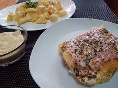 COCINA FÁCIL: Pastel de patatas en microondas Lasagna, Side Dishes, French Toast, Meals, Breakfast, Ethnic Recipes, Food, Chicken Salad, Grilled Chicken