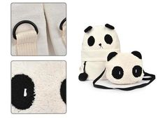Siempre Quise Uno: Kit de mochilas de Panda - Kichink!