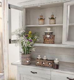 """Deko-Vase """"Lovely Cottage"""", 2tlg. jetzt für 6,75 € kaufen im Frank Flechtwaren und Deko Online Shop"""