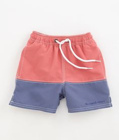 Pieced Bungalow Shorts