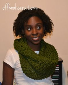 Hand Crochet Neckwarmer crochet cowl by OFFHOOKCREATIONS on Etsy,