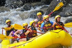 Beautiful San José, Costa Rica offers you this Pacuare River Rafting Tour. Careen over class 3 and 4 rapids in a tropical jungle setting. Rafting Tour, Day Schedule, Caribbean Sea, Round Trip, San Jose, Costa Rica, River, Adventure, Adventure Movies