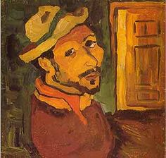 The Art of William H. Johnson Self Portrait You can definitely see the van Gogh influence in this painting.